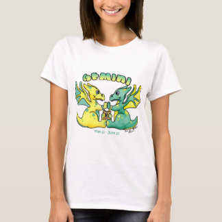 gemini cute zodiac baby dragon T-Shirt
