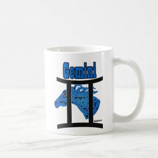 Gemini Equine Zodiac Coffee Cup Basic White Mug