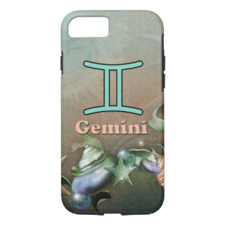 Gemini fancy seashells iphone case