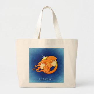 Gemini, Gemelli Jumbo Tote Bag