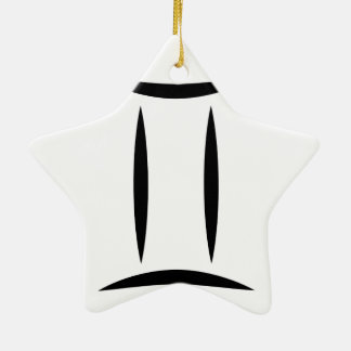 gemini greek astrology zodiac horoscope symbol ceramic star decoration