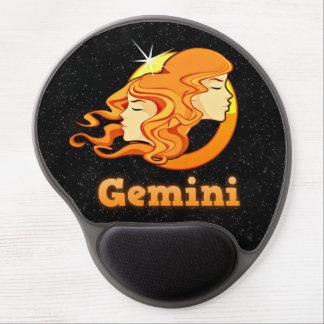 Gemini illustration gel mouse pad