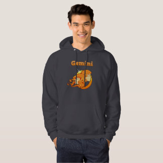 Gemini illustration hoodie