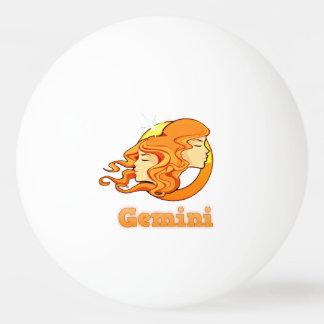 Gemini illustration ping pong ball