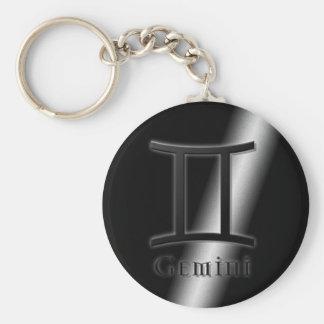 Gemini Key Ring
