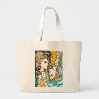 Gemini Large Tote Bag