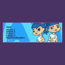 Gemini Profile Card business cards