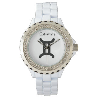 Gemini Sign of the Zodiac.  Ladies Watches. Wristwatches