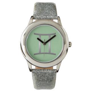 gemini - silver watch
