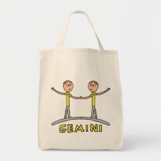 Gemini Star Sign Tote Bag