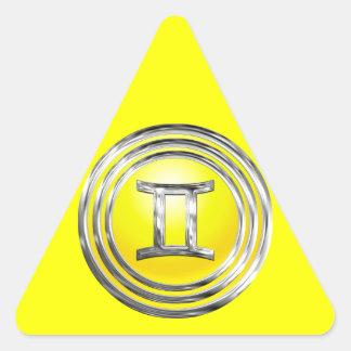 Gemini Triangle Sticker
