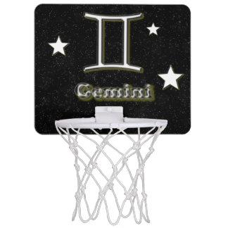 Gemini symbol mini basketball hoop