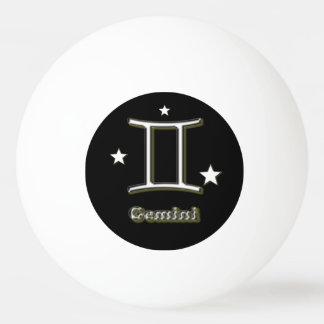 Gemini symbol ping pong ball