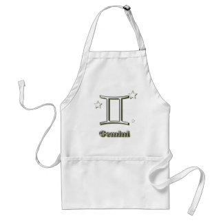 Gemini symbol standard apron