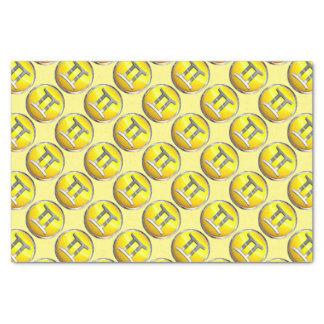 Gemini Symbol Tissue Paper