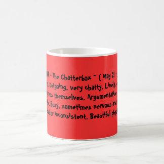 GEMINI - The Chatterbox ~ ( May 21 - June 20 ) ... Coffee Mug
