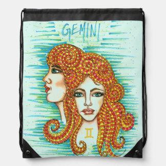Gemini Woman Cinch Bag