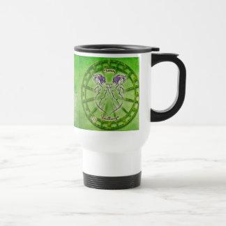 Gemini Zodiac Astrology design Travel Mug