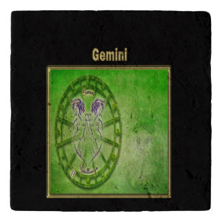 Gemini Zodiac Astrology design Trivet
