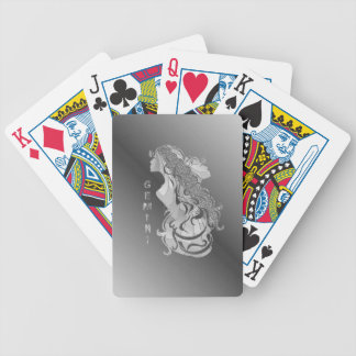 Gemini Zodiac Bicycle Playing Cards
