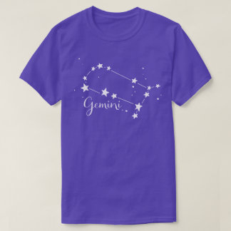 Gemini Zodiac Constellation T-shirt