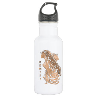 Gemini Zodiac Design 532 Ml Water Bottle