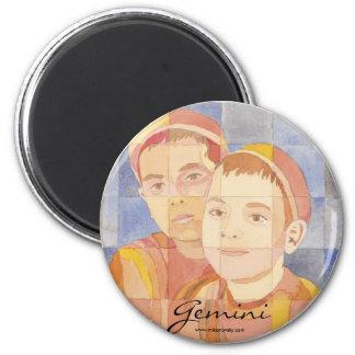 Gemini Zodiac Refrigerator Magnet
