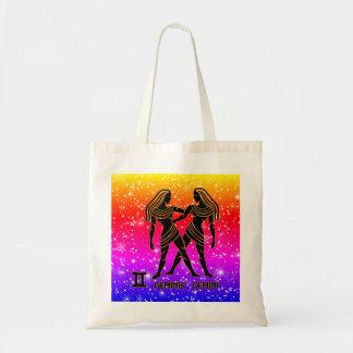 Gemini Zodiac Modern Tote Bags