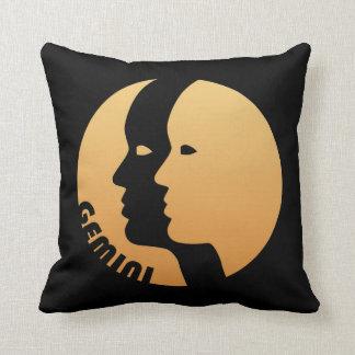 Gemini Zodiac Sign Throw Pillows