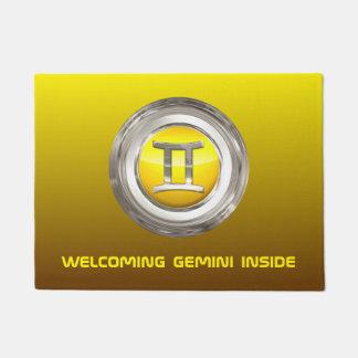Gemini Zodiac Sign Doormat