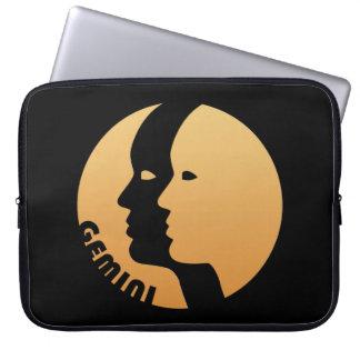 Gemini Zodiac Sign Laptop Sleeves