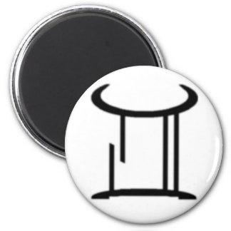 Gemini, Zodiac Sign Fridge Magnet