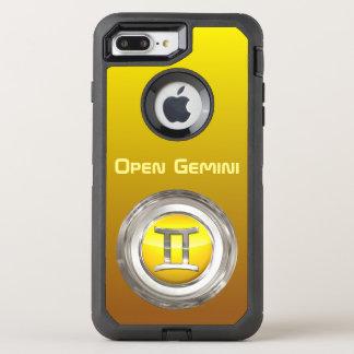 Gemini Zodiac Sign OtterBox Defender iPhone 7 Plus Case