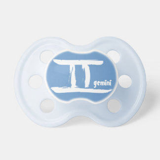 Gemini Zodiac Sign Pacis Baby Pacifiers