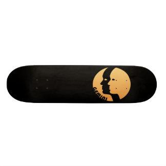 Gemini Zodiac Sign Skate Board