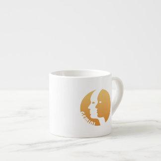 Gemini Zodiac Sign Espresso Mugs