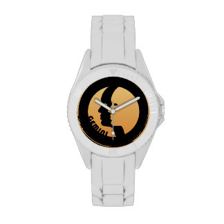 Gemini Zodiac Sign Wrist Watches