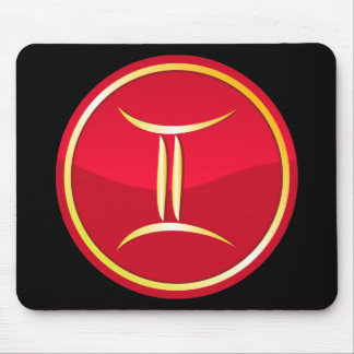 Gemini - Zodiac Signs Mouse Pad