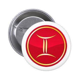 Gemini - Zodiac Signs Pin