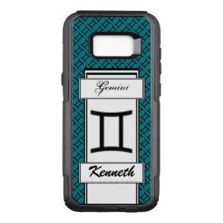 Gemini Zodiac Symbol Standard by Kenneth Yoncich OtterBox Commuter Samsung Galaxy S8+ Case