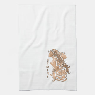 Gemini Zodiac Tea Towel