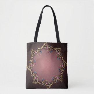 Gems All-Over-Print Tote Bag, Medium