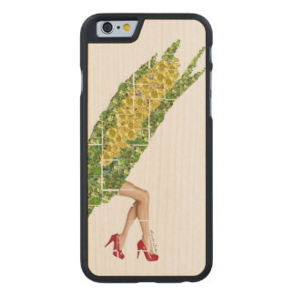 Gems of Corn Carved Maple iPhone 6 Case