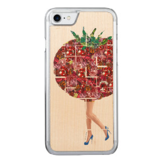 Gems of Tomato Carved iPhone 8/7 Case