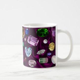 Gems On Velvet Coffee Mug