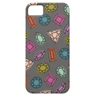 Gems Phone Case - Charcoal