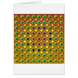 Gemstone background card