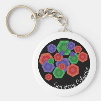 Gemstone Collector Keychains