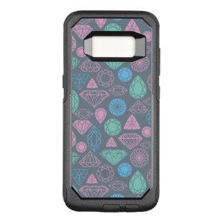 Gemstone Icon Pattern OtterBox Commuter Samsung Galaxy S8 Case