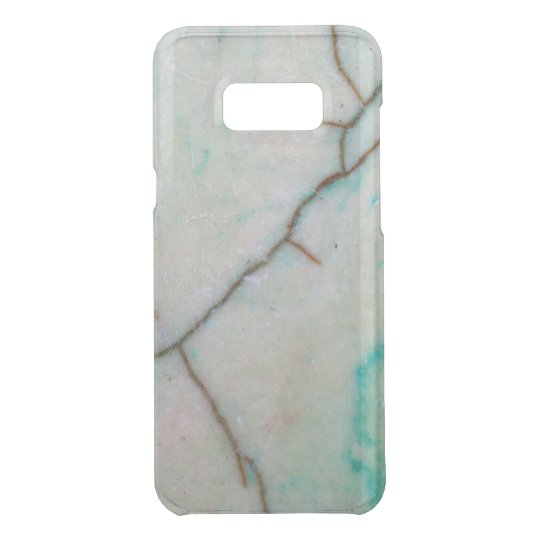 Gemstone Series - Cracked Turquoise With Green Uncommon Samsung Galaxy S8 Plus Case